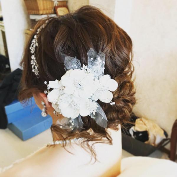 花嫁,ブライダル,ブライダルヘアスタイル